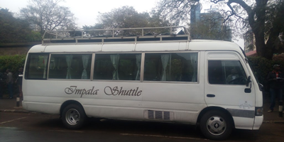 Private Car Hire Nairobi / Arusha/ Moshi Marangu luxury shuttle charter bus ( 40seats) Marangu shuttles offer tourist shuttle bus transfers from Nairobi hotels or Airport to Arusha town and Moshi via Namanga border. Scheduled departures both Morning at 08:00 hrs and afternoon at 14:00 hrs Same schedule from Arusha to Nairobi.